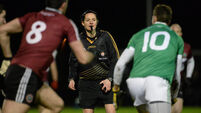 Referee Maggie Farrelly makes GAA history in Garvaghey