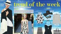Trend of the week: Black & white summer style