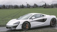 McLaren 570S: A supercar available at production levels