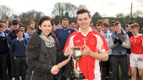 Michael John Shine stars as Scoil Mhuire gan Smál Blarney claim Munster crown