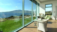Beachside house in Ventry, Co Kerry, is a real glass act