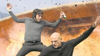 Sacha Baron Cohen goes undercover in his underpants for Grimsby