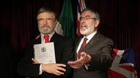 Gerry Adams says waxwork of himself an 'improvement'