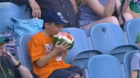 #WatermelonBoy has stolen the hearts of the internet