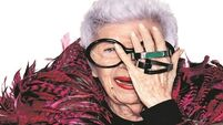 Ageing With Attitude: Iris Apfel is set to be the face of wearable technology for the older generation