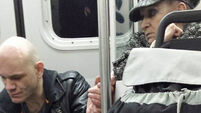 This elderly woman's kind gesture to a fellow passenger has been shared worldwide