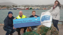 Fishing for Litter initiative encourages fishermen to take ashore the litter they catch