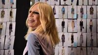 Male designers work for an ideal woman; Donatella Versace works for real women