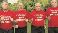The mighty Quinns: Record breaking Tyrone brothers return to NY marathon 35 years later