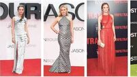 On the red carpet: Alicia Vikander, Julia Stiles, Diane Kruger, Kristen Wiig