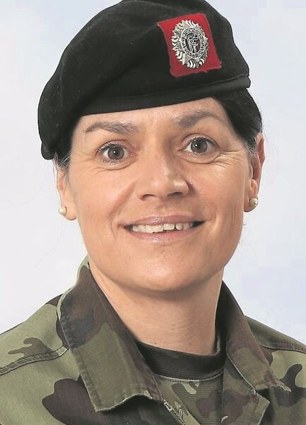 Sgt Rena Kennedy from the Defence Forces