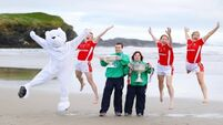 VIDEO: GAA stars unite with Special Olympics Ireland for this year's charity Polar Plunge