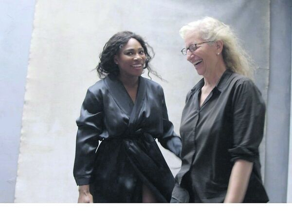 Serena Williams with the 2016 photographer Annie Leibowitz.
