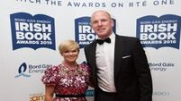 Graham Norton and Paul O'Connell among prize winners at Irish Book Awards