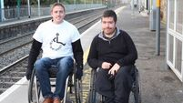 Seán O'Kelly fights for wheelchair users as Cormac Devlin is 'blanked' during 'Day in my Wheels' challenge