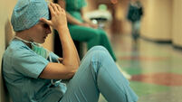 Third of hospital doctors distressed
