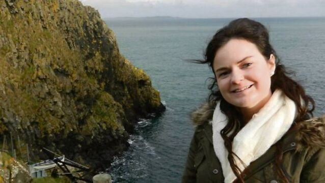 'Hard not to cry' as Karen Buckley's father collects her degree