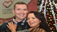 Sparks fly at Cork Airport as electrician proposes in arrivals