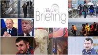 Evening briefing: Storm Barbara forcing diversions for Christmas flights. Catch up on all the headlines