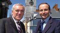 Micheál Martin quiet on claims Bertie Ahern has been asked to rejoin party