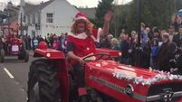 Have you seen this annual Christmas charity tractor run?