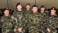 Albanian and Polish soldiers join Irish Defence Force ranks