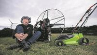 Cork lawnmower man ready for world record attempt take-off