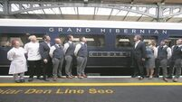First all-Ireland luxury sleeper train begins week-long rail tour