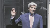 America's secretary of state John Kerry 'truly honoured' by Tipperary peace prize