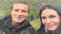 Friends star Courteney Cox traumatised over 'scrotum of maggots' in Kerry with Bear Grylls