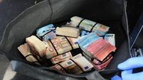 Gardaí seize €200k in cash concealed in car