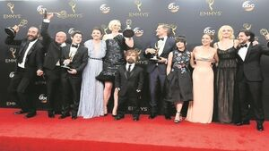 Game of Thrones conquers the Emmy's on night of political drama