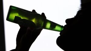 Irish teen drinking at a low in European table for alcohol use