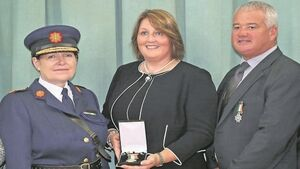 'Your dad was one of the bravest' - Detective Garda Adrian Donohoe given posthumous award