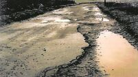 66% of roads damaged in storms have been repaired