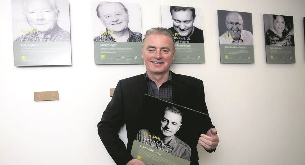 RTÉ 2fm's Dave Fanning was one of the four new member s inducted into the PPI Radio Awards hall of fame. The head of 2fm, Dan Healy, described Fanning as a 'pioneer'. Picture: Iain White