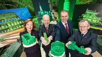 One World Trade Center joins Global Greening for St Patrick's Day