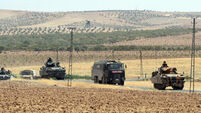 Turkish army pushes deeper into Syria