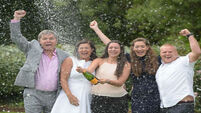 Family scoop €72m EuroMillions jackpot after 'lucky' call