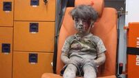 'Face of Aleppo' Omran Daqneesh reunited with parents