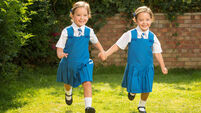 Former conjoined twins ready for first day at school