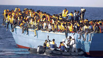 Record 771 migrants rescued in a day by Irish Naval Service