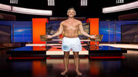 Gary Lineker appeared on TV in his underpants