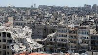 Syria government airstrike kills two