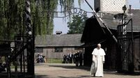 Pope Francis visits Nazi death camp at Auschwitz