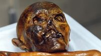 This iceman's voice was reconstructed and heard again 5,000 years after his death