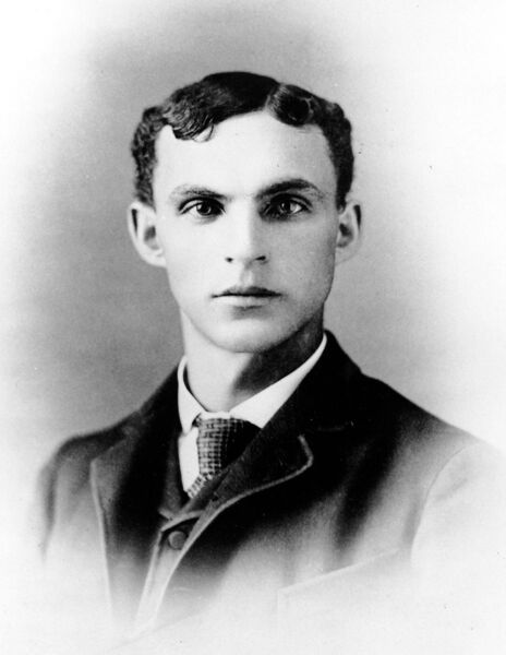 Henry Ford in 1888.