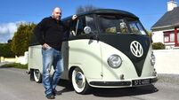 Motors & Me: Adrian Cullinane with his 1957 VW Camper Splitscreen