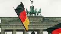 German economy powers on