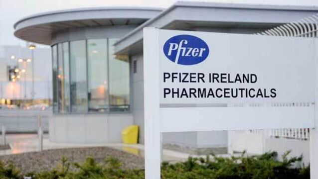 Pfizer shares dip as sales top $13bn